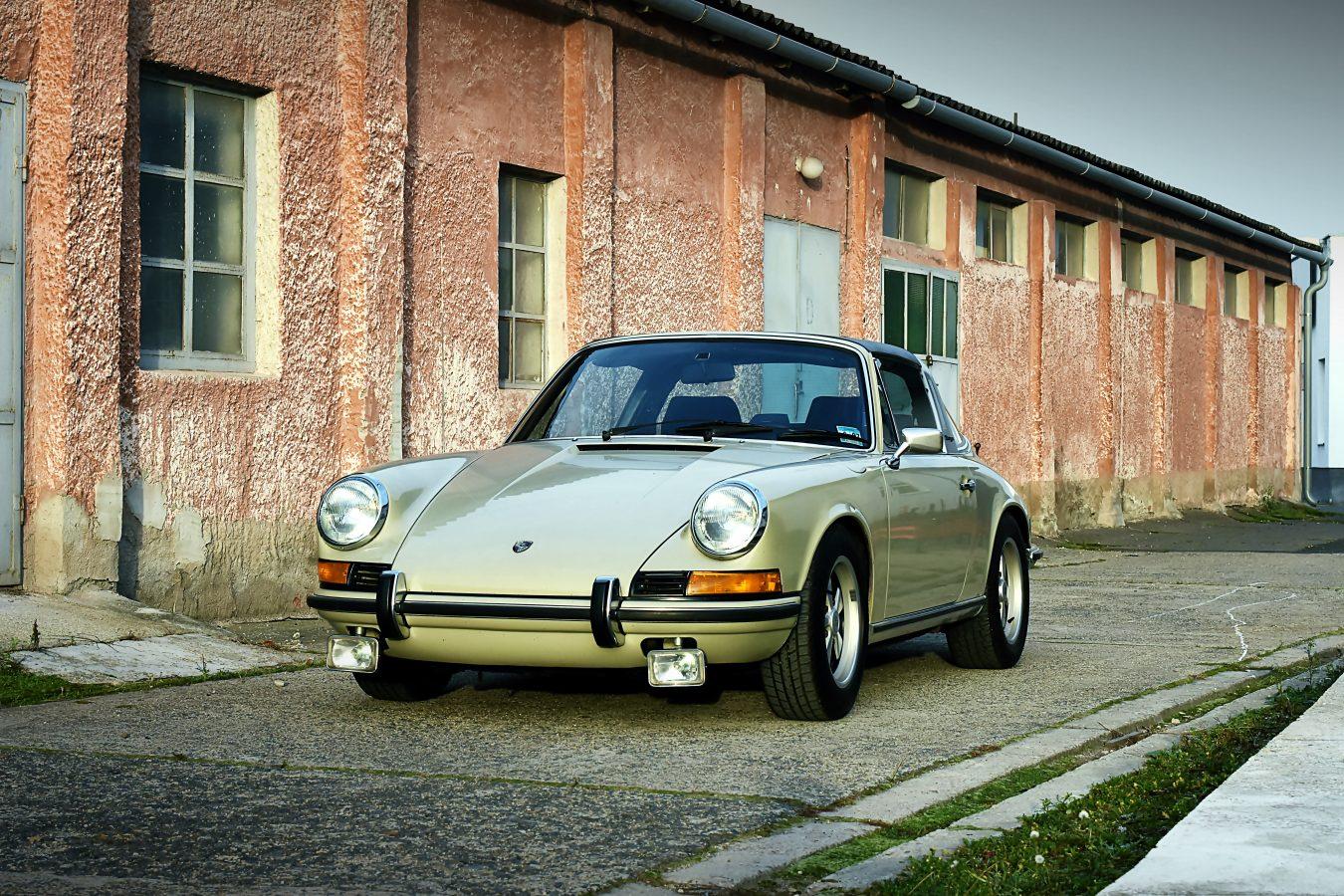 Originaler Porsche 911E Targa 3