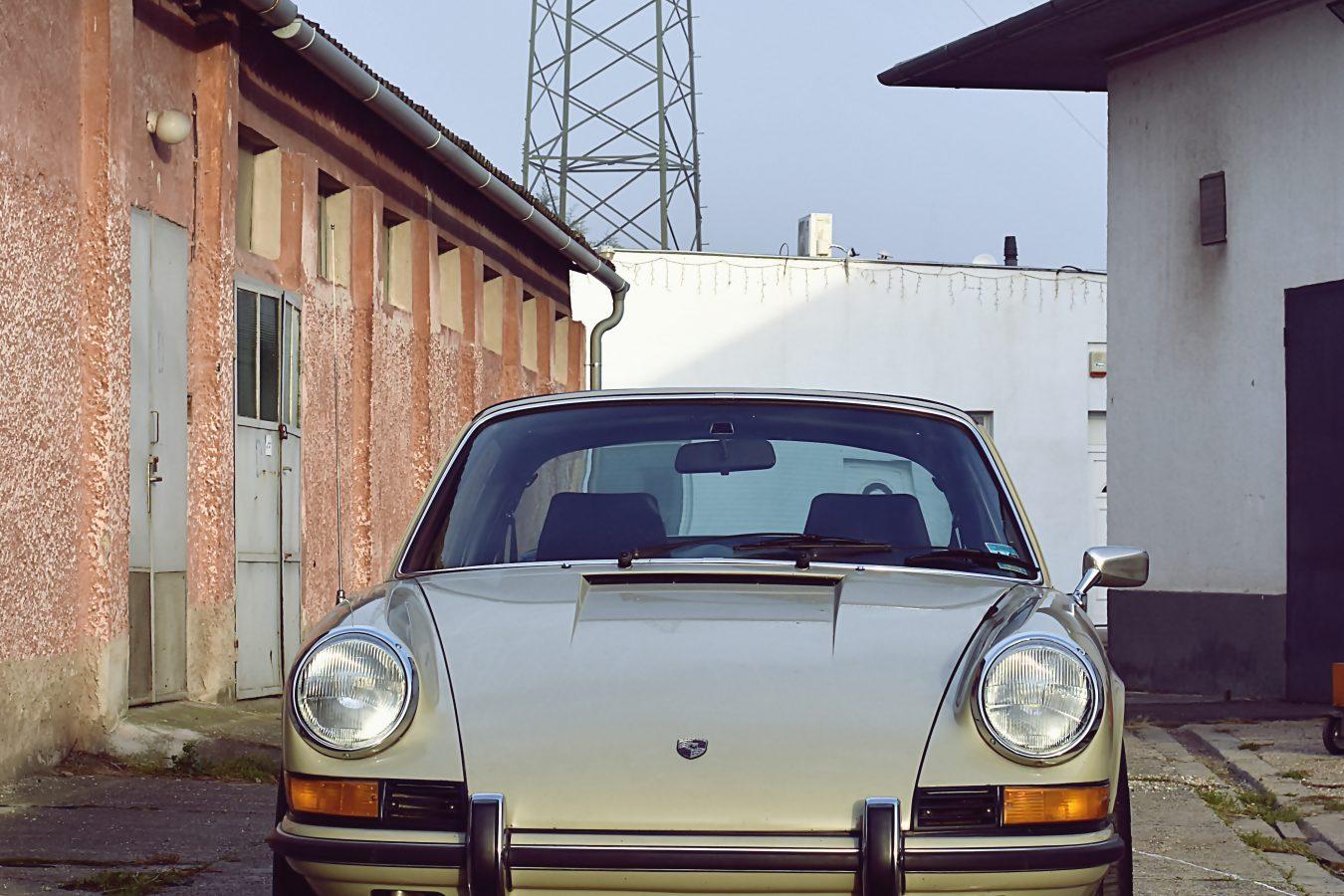 Originaler Porsche 911E Targa 4