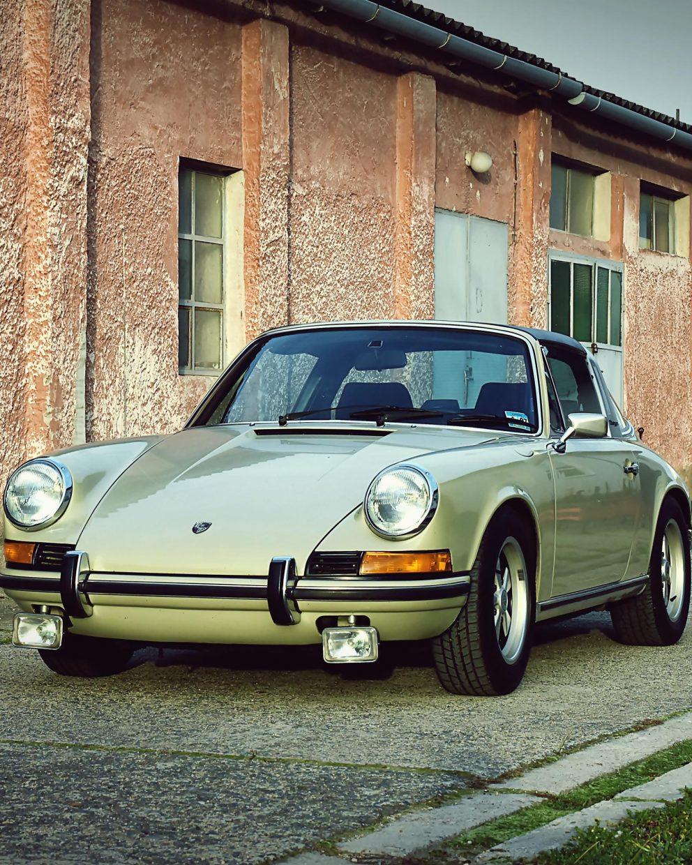 Originaler Porsche 911E Targa