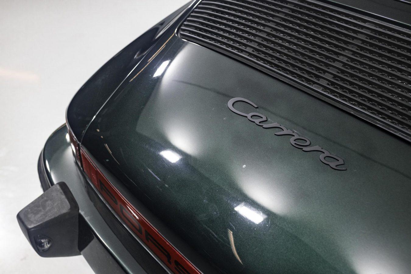 Porsche 3.2 Carrera Targa Moosgrün 57