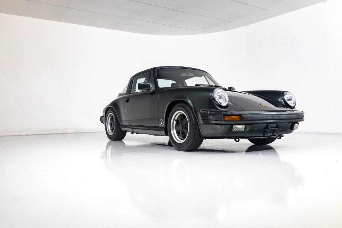 Porsche 3.2 Carrera Targa Moosgrün 34