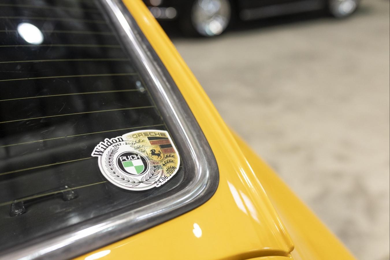 Porsche 911 Ölklappe