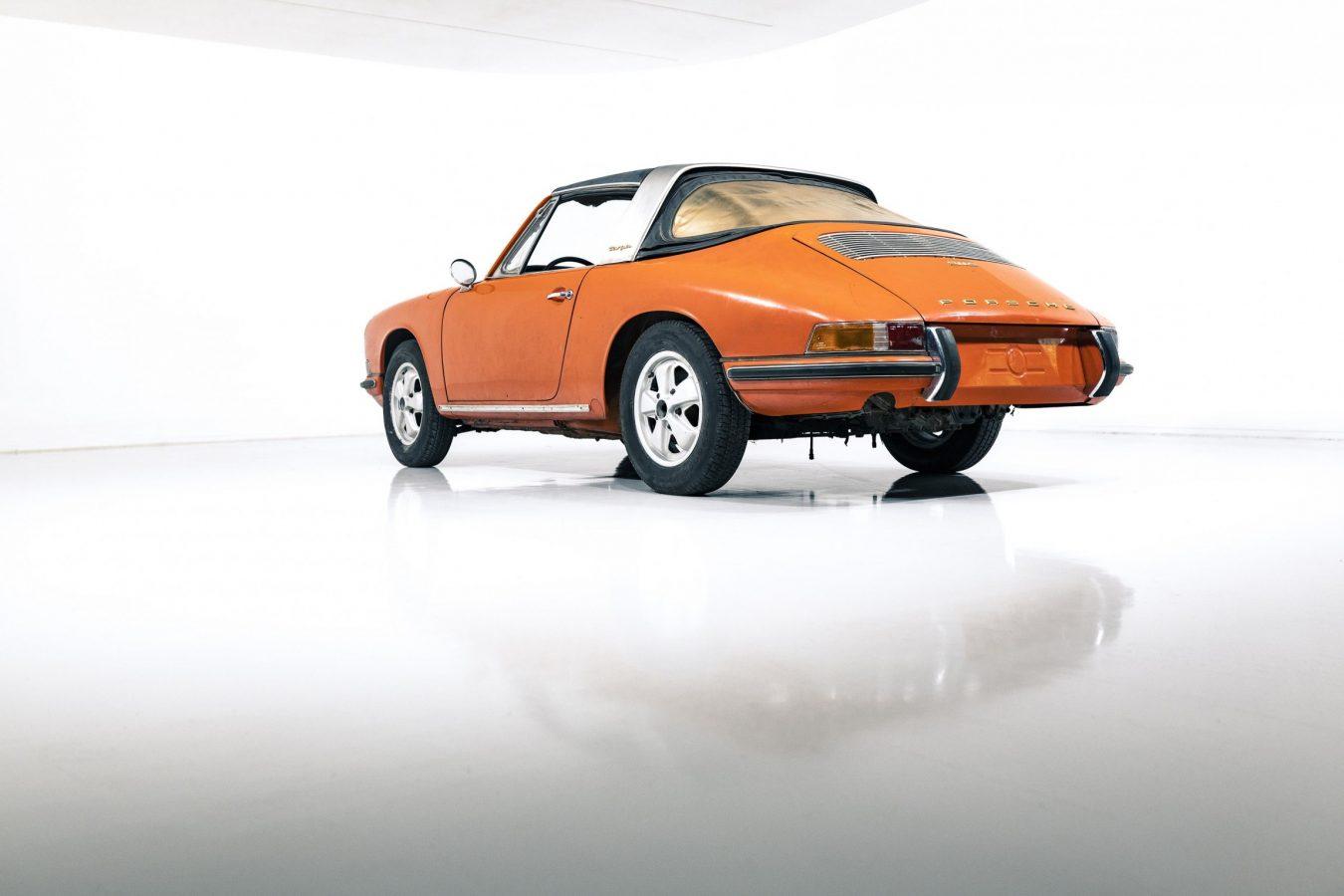 Porsche 911S Softwindow Targa